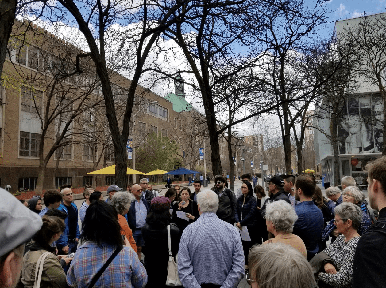 Walking & talking the future of Downtown Yonge